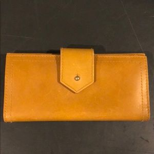 Leather Madewell wallet